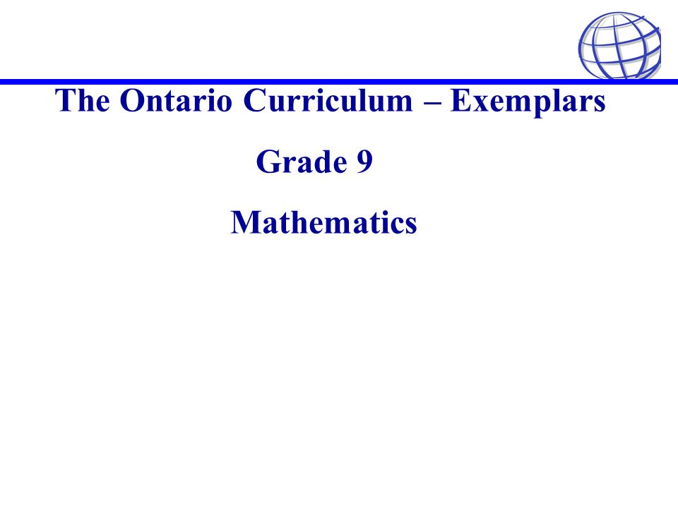 How does grade 9 gifted math differ from grade 9 regular math w/Ontario curriculum?