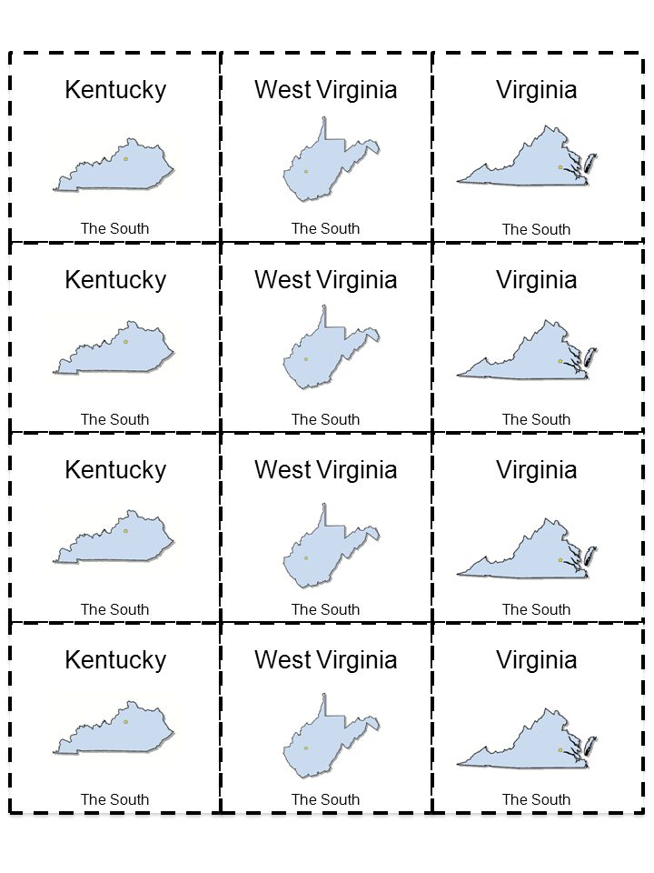 Kentucky West Virginia Virginia Kentucky West Virginia Virginia Kentucky West Virginia Virginia Kentucky West Virginia Virginia The South