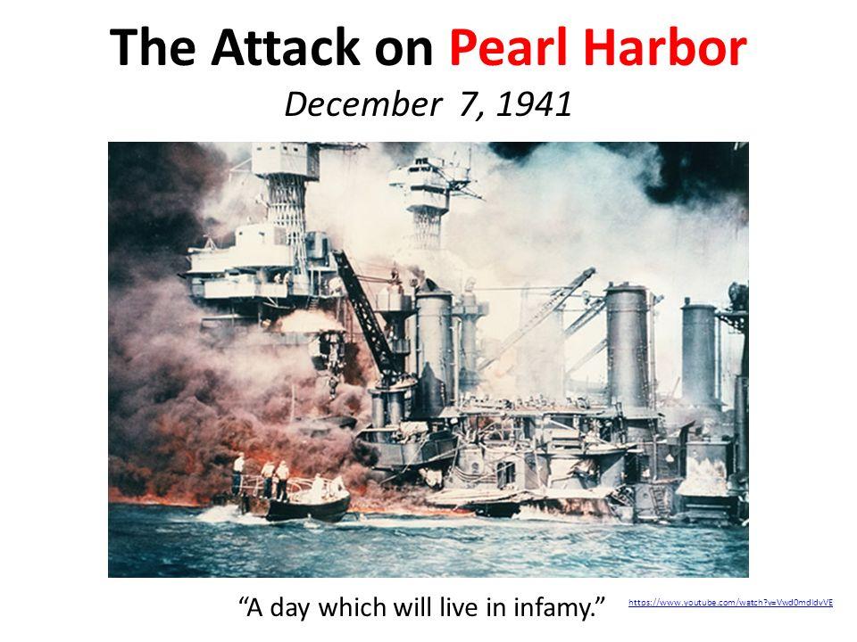 date pearl harbor