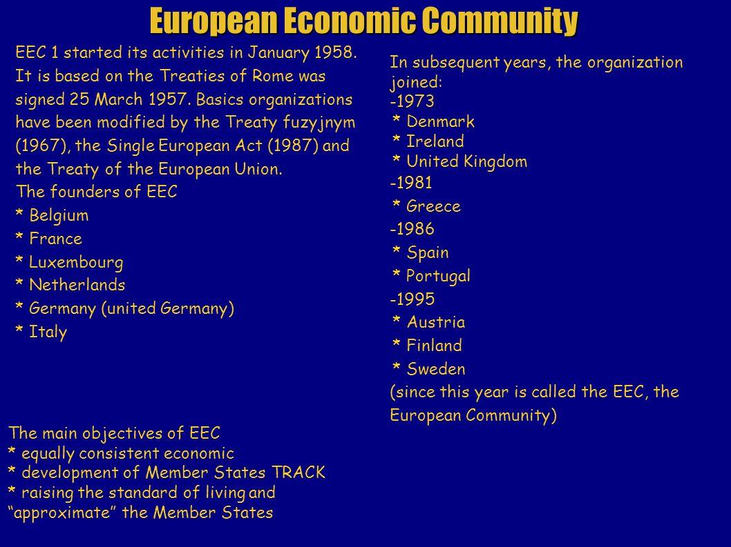 OF THE HISTORY EUROPEAN UNION. History of the European Union began ...