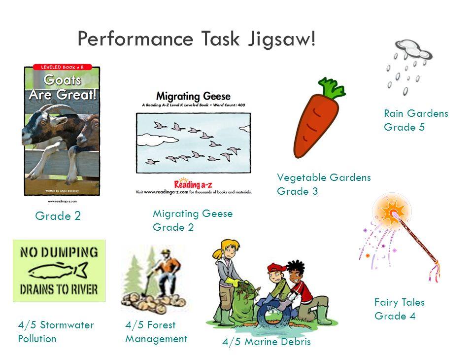 Grade 2 Performance Task Jigsaw.