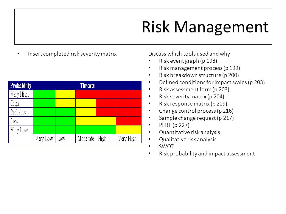 Sample Quantitative Risk Analysis Risk And Response Apmp