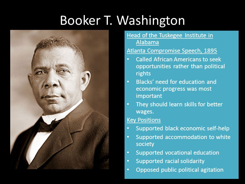 Why african americans should have education ?