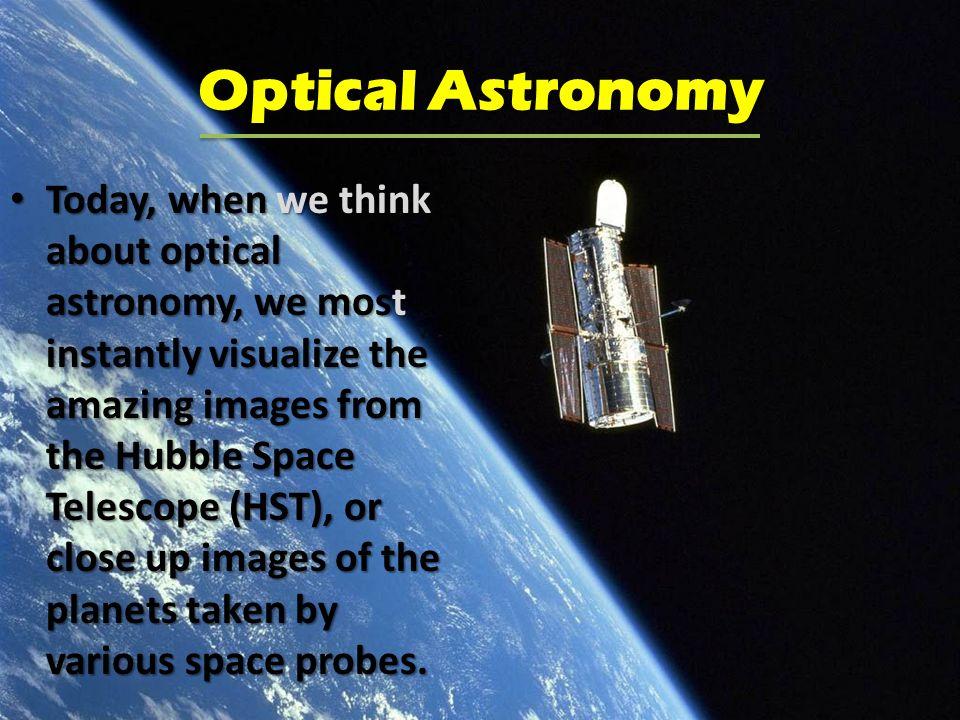 Astronomy Optics And Equipment