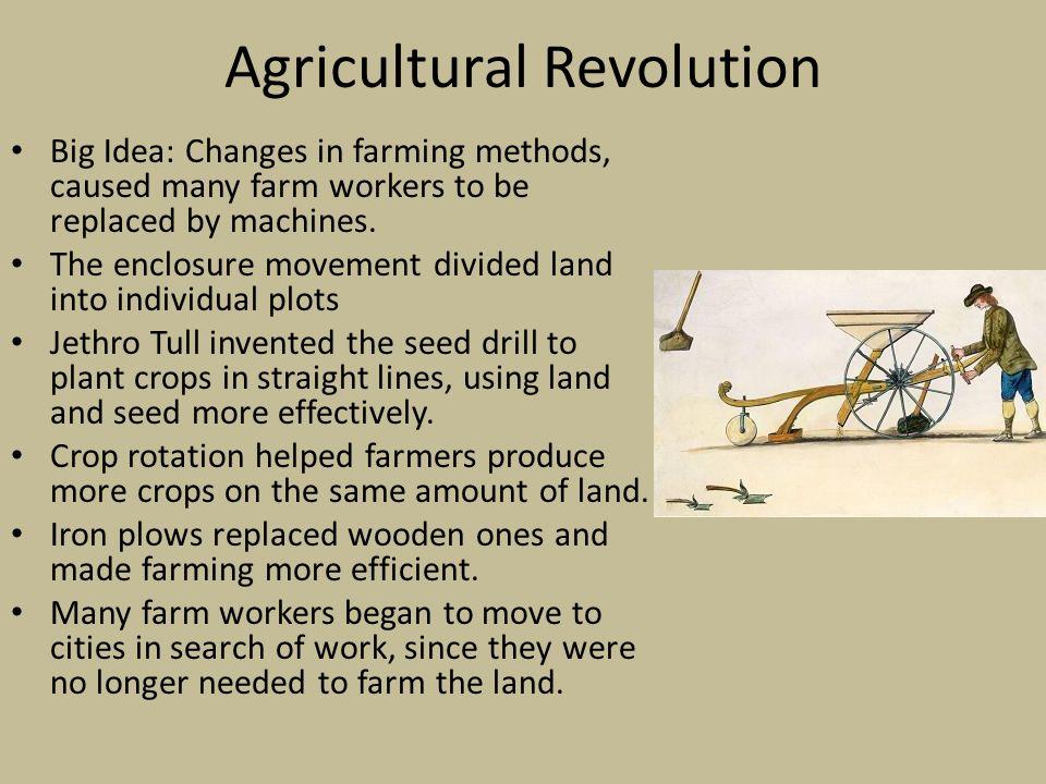 agricultural revolution essay