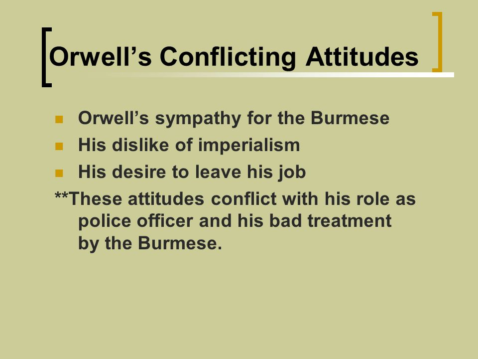 hanging george orwell ppt essay People sometimes undergo difficult situations when they are forced to carry out orders by authority george orwell's a hanging is a descriptive essay about capital punishment.