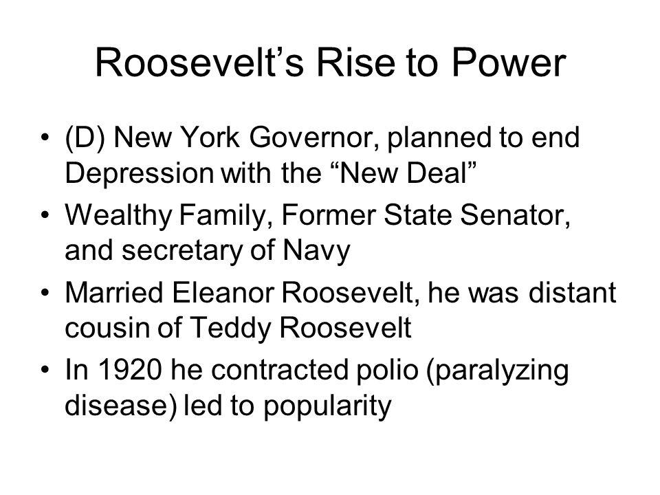 2 Roosevelt's ...