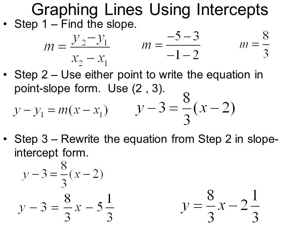Graphing linear equations slope intercept form worksheet pdf