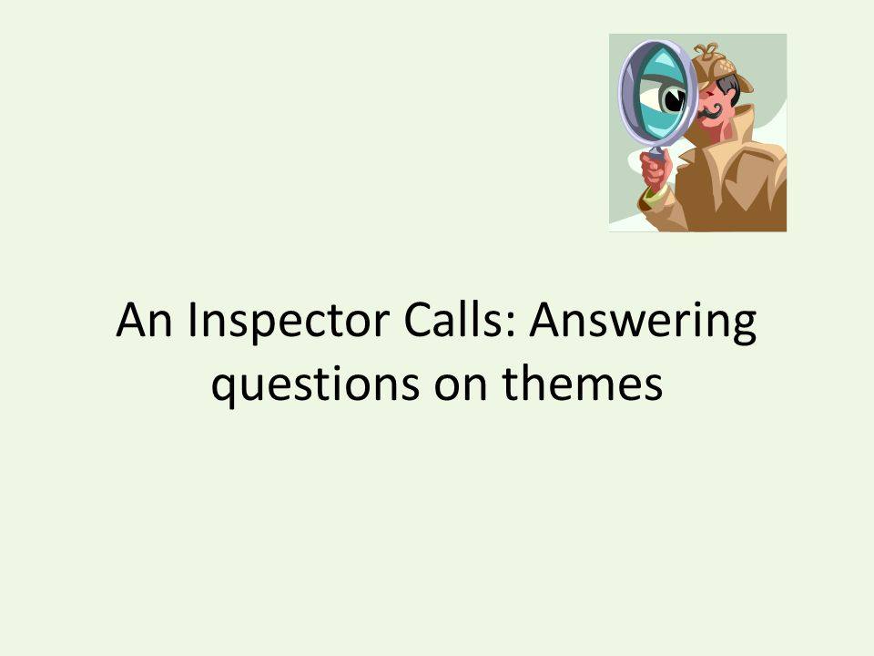 an inspector calls coursework questions 10012012  a free english literature essay on an inspector calls, by jb priestly this essay can help with gcse english coursework  are some questions.