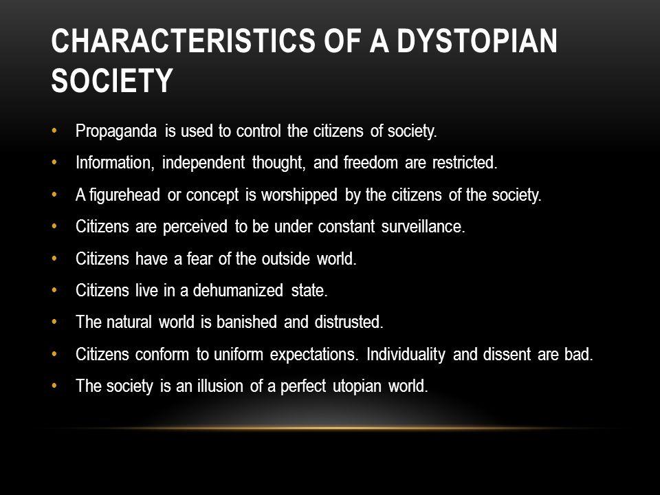 characteristics of society