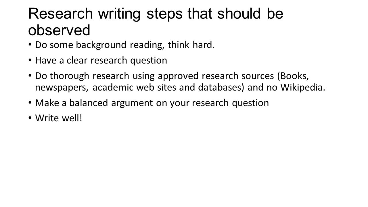 I need to do a research paper on a topic, what should I do it on?