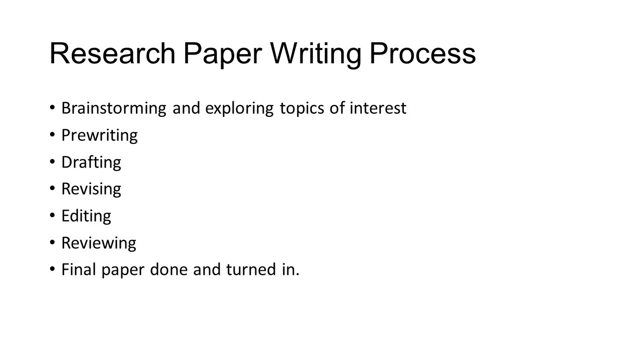 Research Paper Workshop Research Topics In Development And Research Paper  Writing Process Brainstorming And Exploring Topics