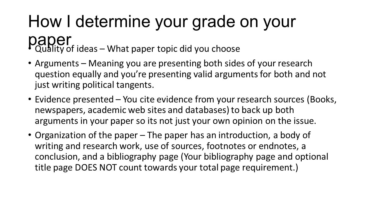 I have to do a research paper (Which topic should I pick)?
