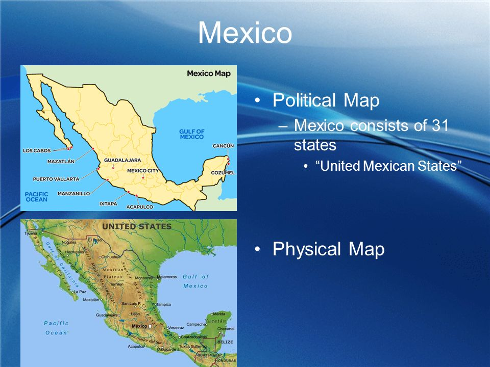 Physical Geography Mexico Central America Caribbean ppt download