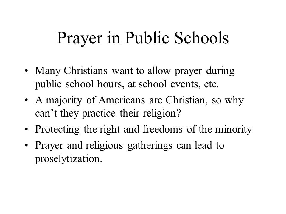 a discussion on prayer in american public schools Muslim prayer in american schools, but christianity is not allowed visit our website:.