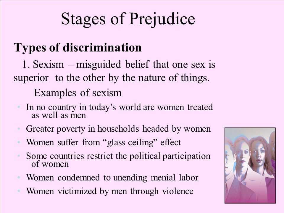the impact of prejudice and discrimination A fascinating overview of research on the psychology of prejudice and discrimination well worth reading.