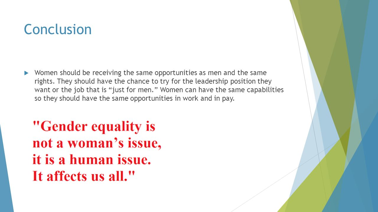 gender equality sports essay Sports activities promote equality through participation and any form of gender bias represents a retrogressive scheme by dominant gender to benefit solely from the sports financial investment besides, gender engineered prejudice to hinder women from participating in sports female athletics participants have reported various forms of derogatory language, sexism and sexual harassment scenarios that receive scanty media coverage.
