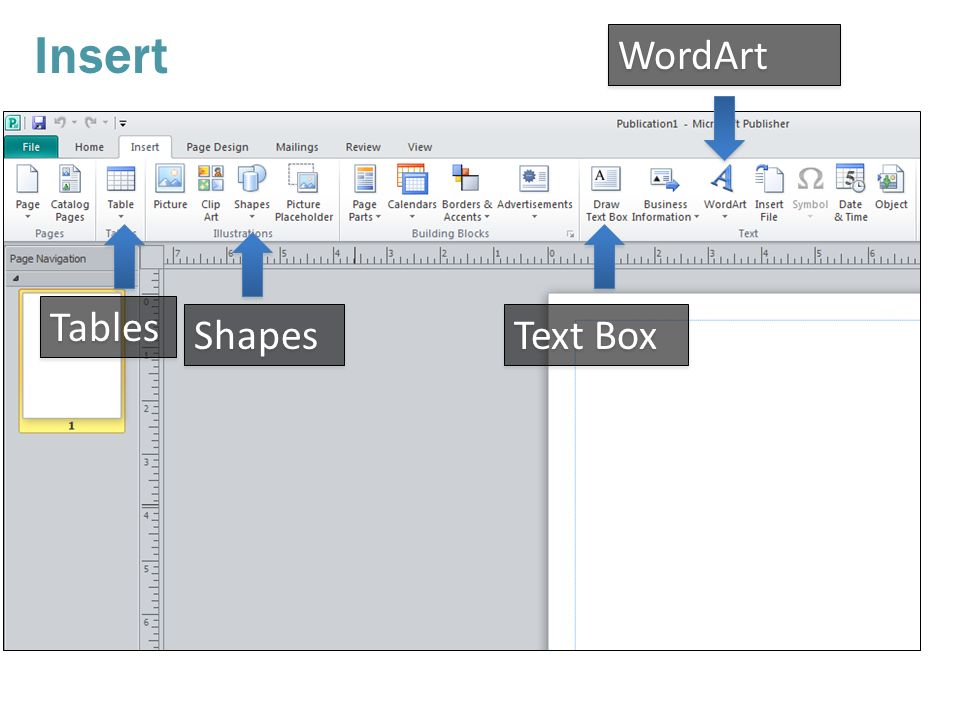 Tips and Instructions. Microsoft Publisher Create a variety of ...