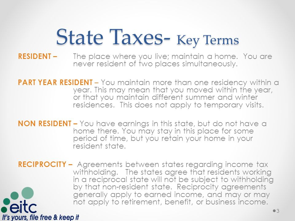 state reciprocity agreements income tax