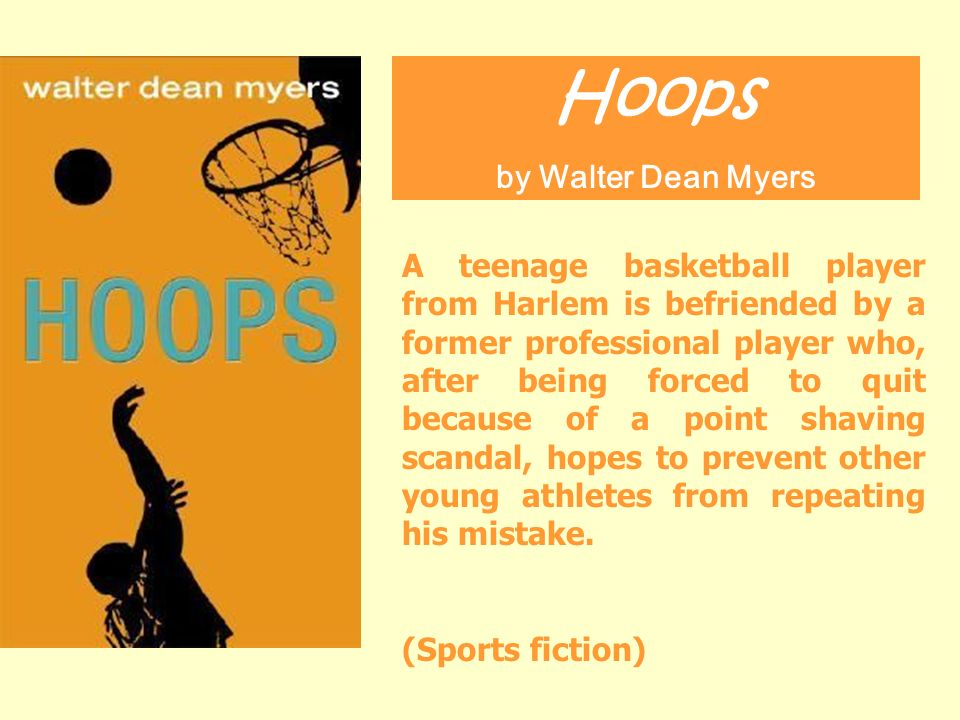 a plot summary of walter dean myers book hoops