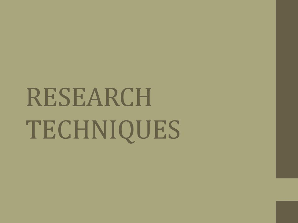 Good research websites