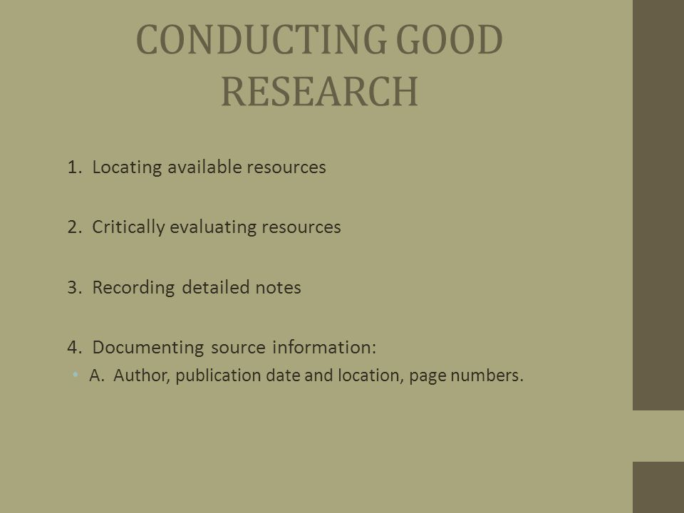 reputable websites for research papers A reputable journal or magazine should contain a fleming, grace internet research tips thoughtco documentation in reports and research papers.