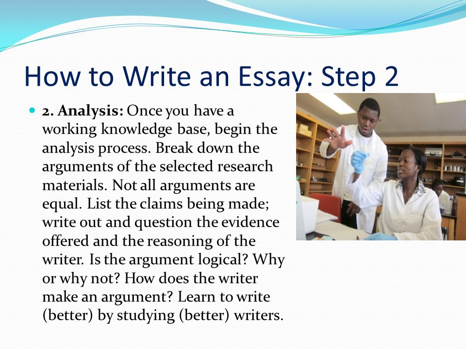 How to write an essay 10 easy steps
