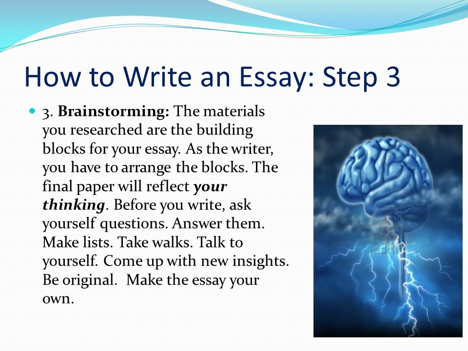 10 easy steps to writing an essay