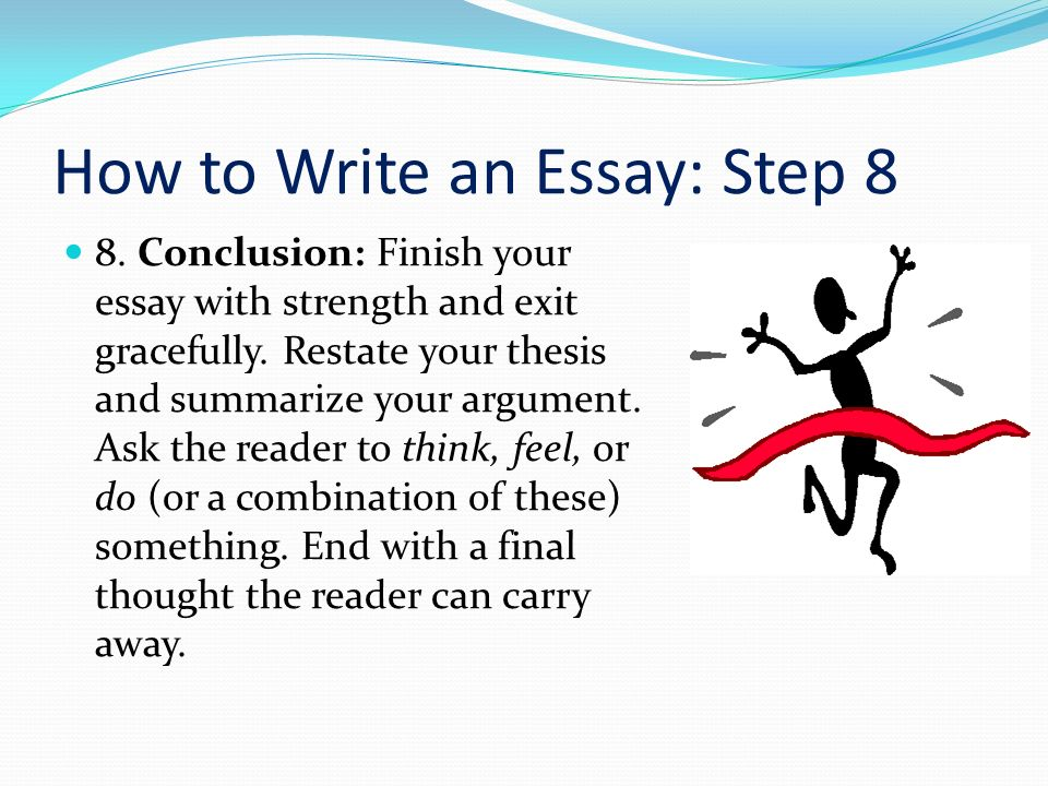finish essay