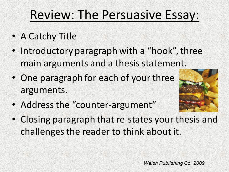 What is a catchy title for an essay with the word