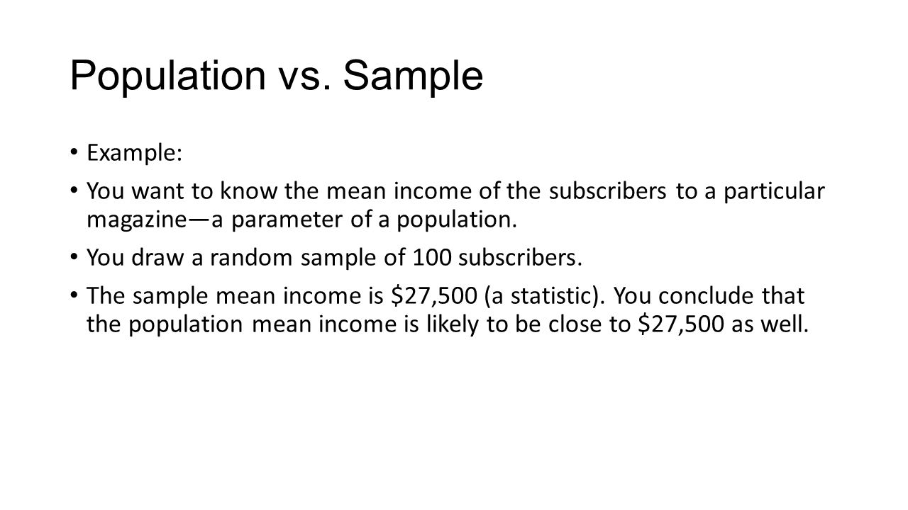 1. Introduction. What is statistics? Statistics as a subject ...