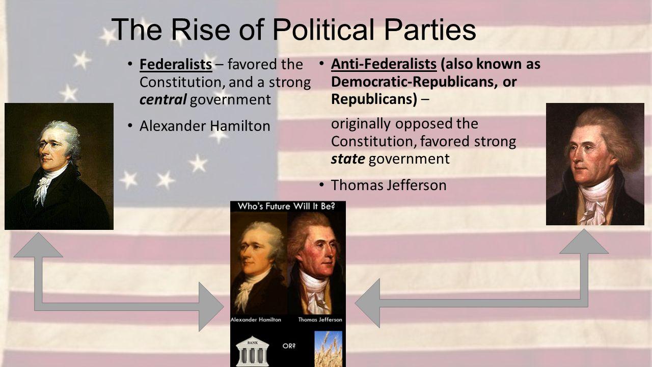 Alexander Hamilton and Thomas Jefferson 10 POINTS!!!!?