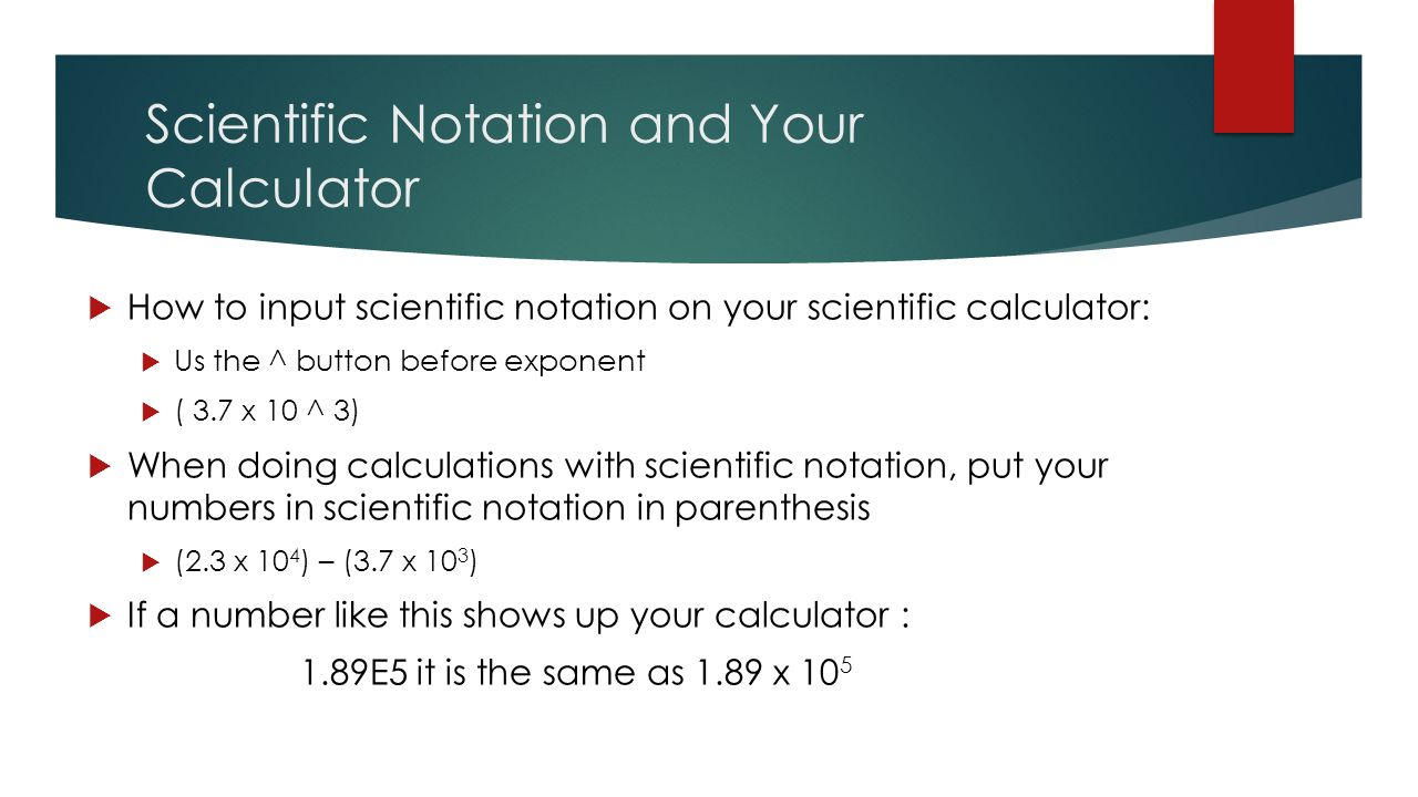 write in scientific notation calculator Standard form is also known as scientific notation or exponential notation, is a method of writing numbers that standard form calculator or standard.
