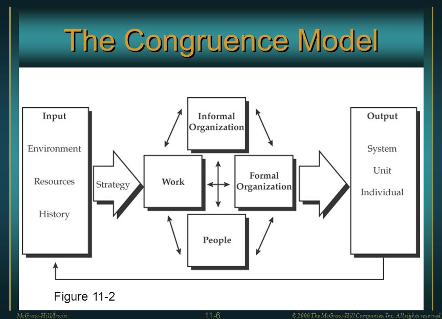 The Congruence Model McGraw-Hill/Irwin© 2006 The McGraw-Hill Companies, Inc.
