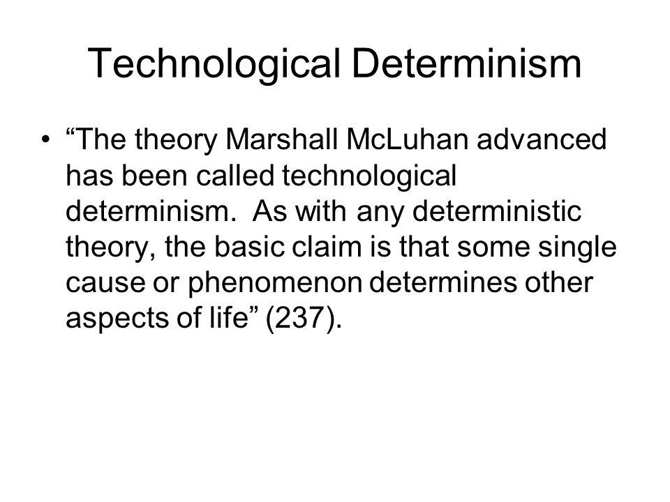 marshall mcluhan theory
