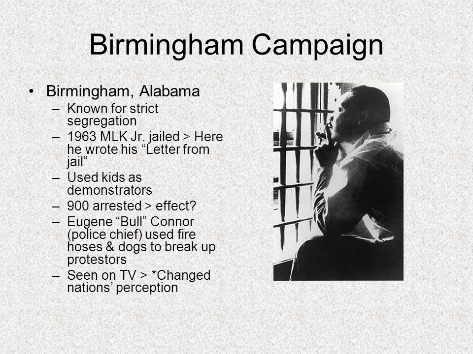 birmingham campaign 1963 essay From may 2 to may 10, 1963, the nation bore witness as police in birmingham, ala, aimed high-powered hoses and sicced snarling dogs on black men, women and even children who wanted just one thing — to be treated the same as white americans.