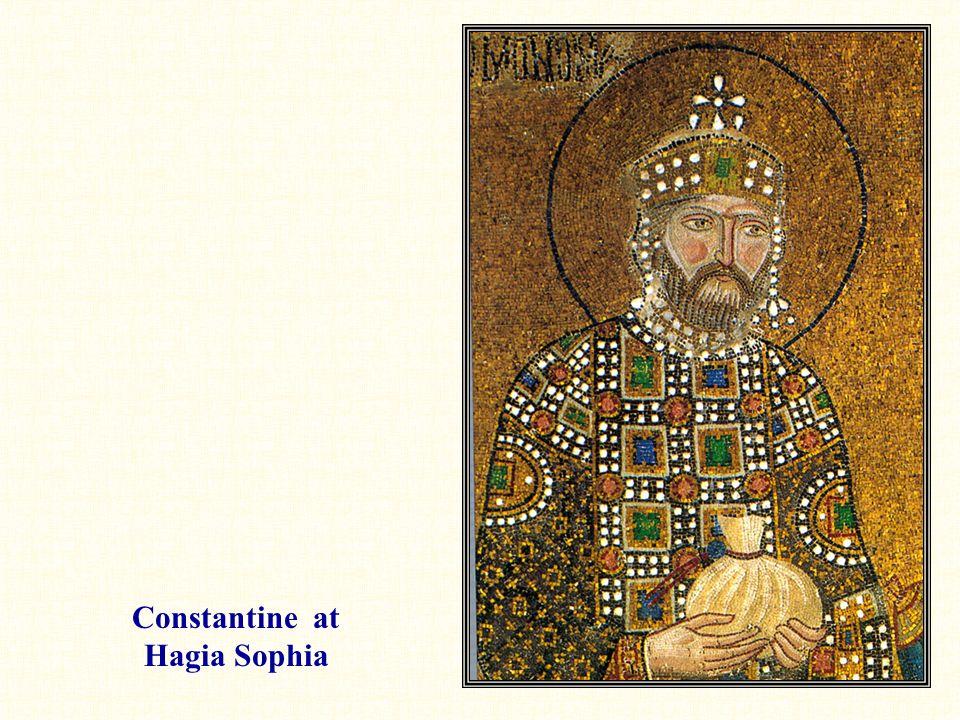 Constantine at Hagia Sophia