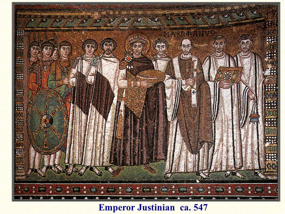 Emperor Justinian ca. 547