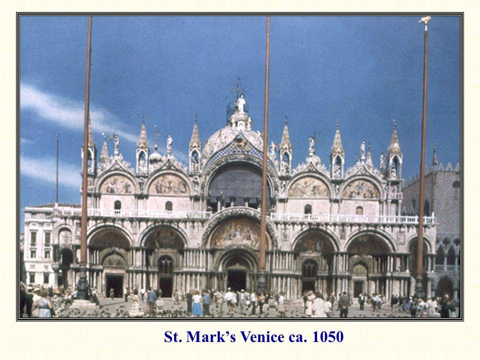 St. Mark's Venice ca. 1050