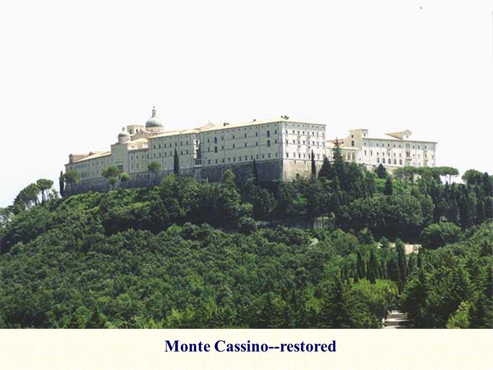 Monte Cassino--restored