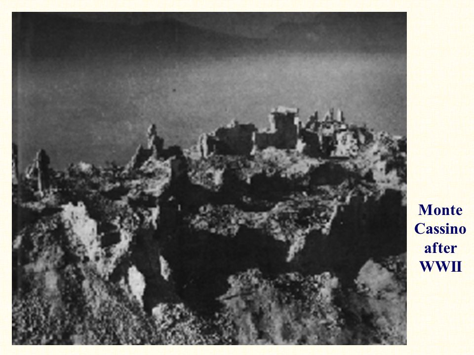 Monte Cassino after WWII