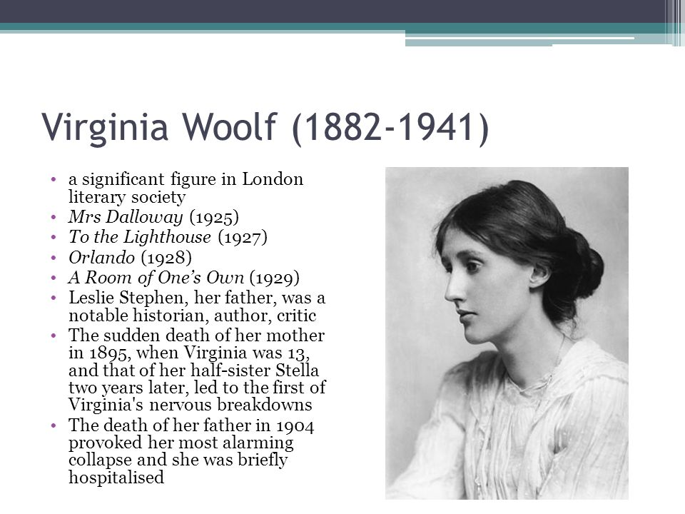 "personal response virginia woolf Thoughts on virginia woolf's ""a room of one's own in the essay, she describes her personal experiences while preparing the lectures."