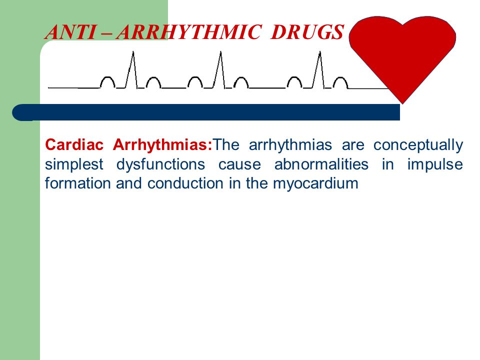 Cardiac Arrhythmias:The arrhythmias are conceptually simplest dysfunctions cause abnormalities in impulse formation and conduction in the myocardium