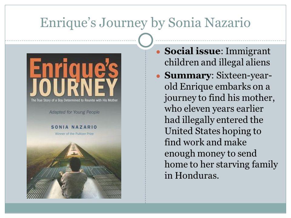 Enrique's journey essay prompt for high school