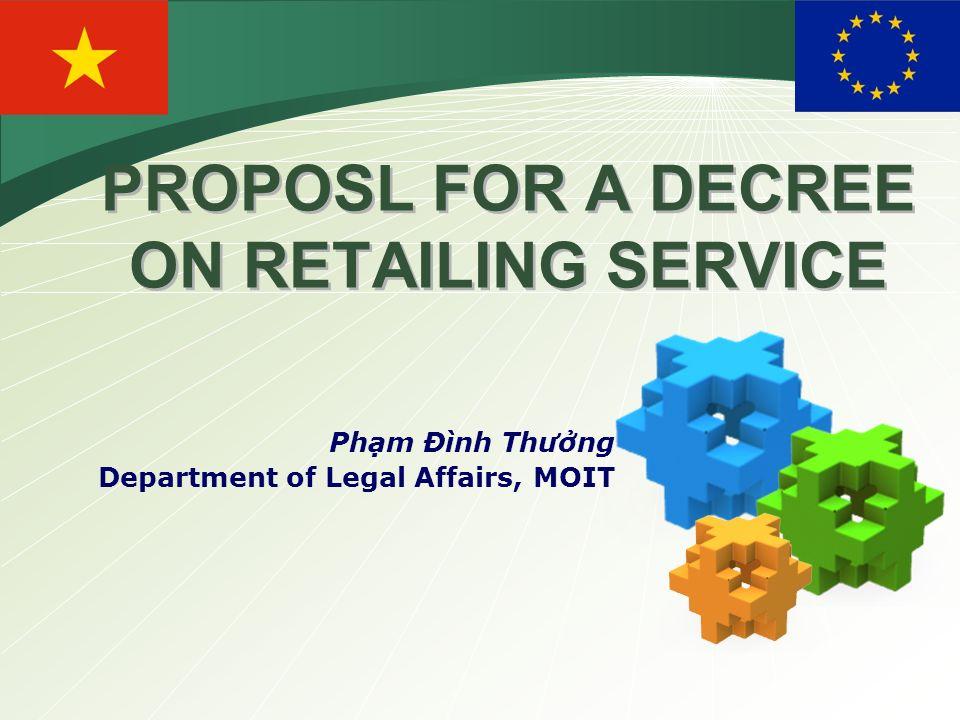 Logo proposl for a decree on retailing service phm nh thng 1 logo proposl for a decree on retailing service phm nh thng department of legal affairs moit sciox Gallery