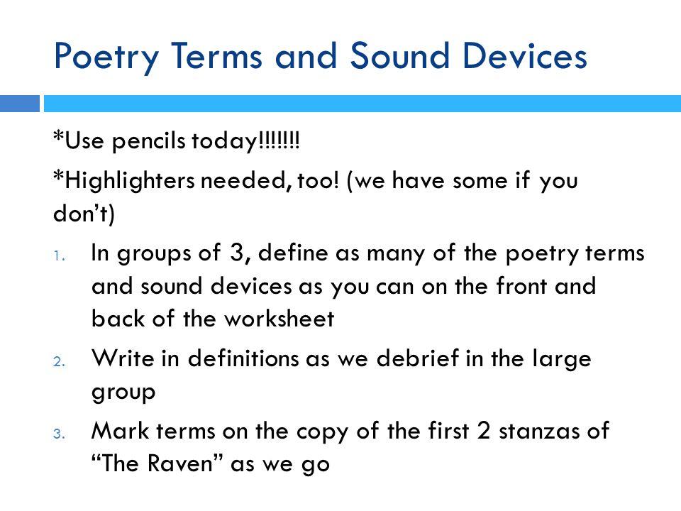 poetic sound devices