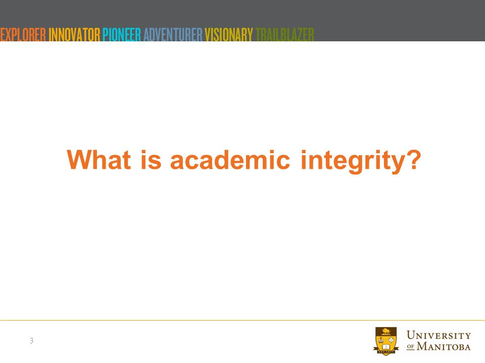 academic integrity let s talk topics to discuss what is  3 what