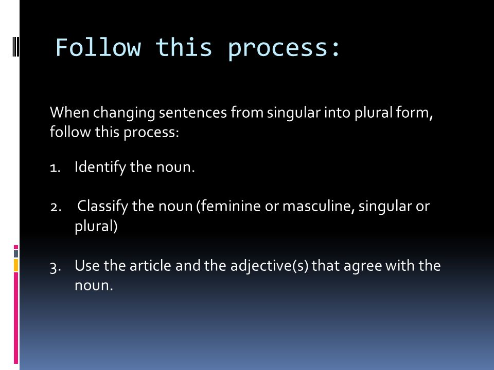 How is it different? In the English language a sentence has the ...