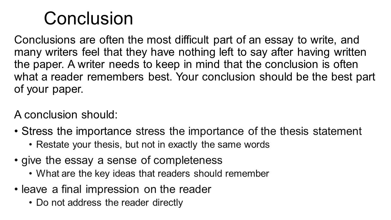 literary analysis essay purpose to identify the theme and message  12 conclusion conclusions