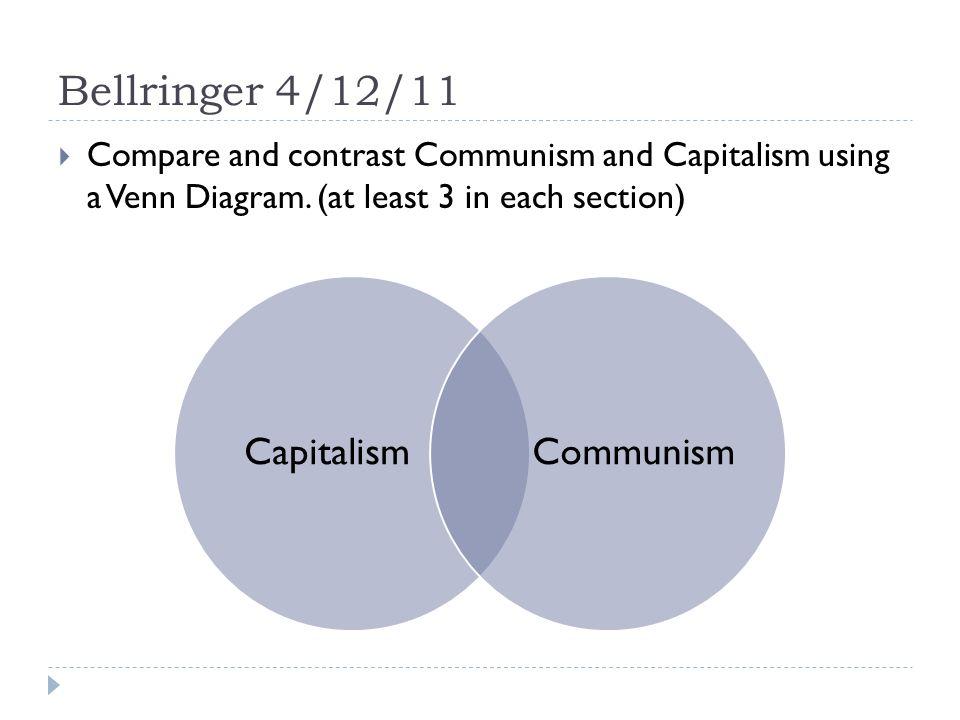 Capitalism And Communism Venn Diagram Forteforic